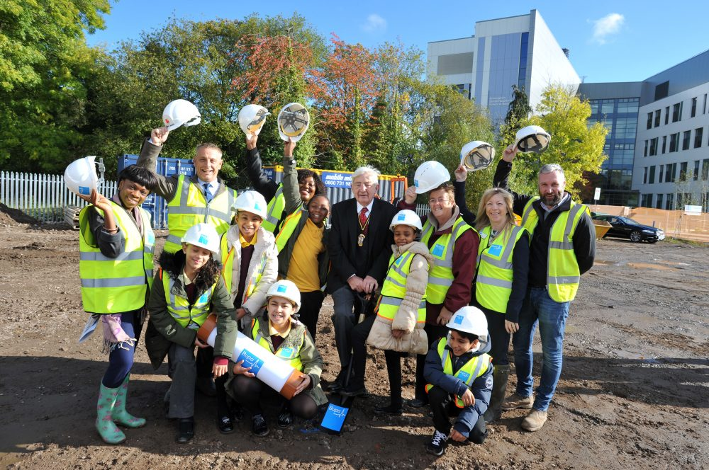 Bupa Care Home Ground Breaking