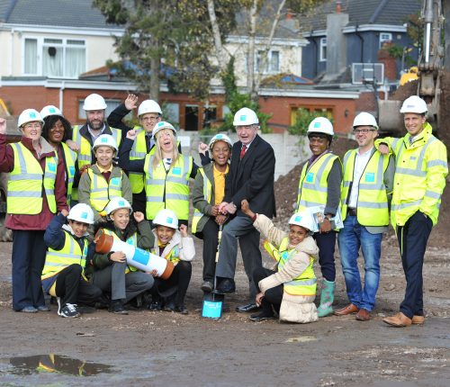 Bupa Care Home Ground Breaking Ceremony, Birmingham.
