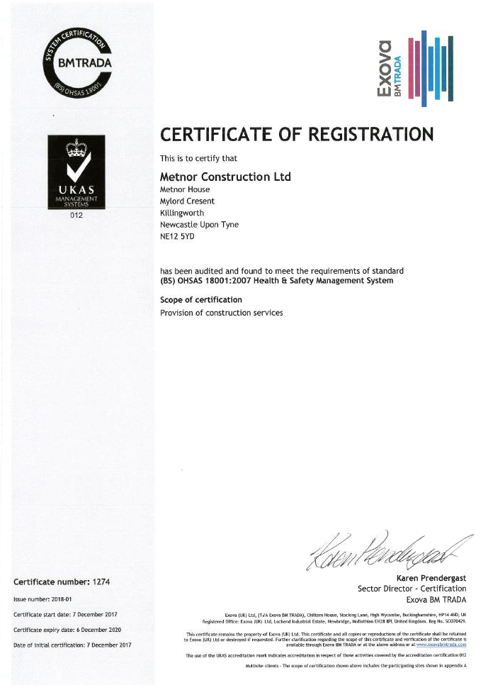 ISO 18001:2007