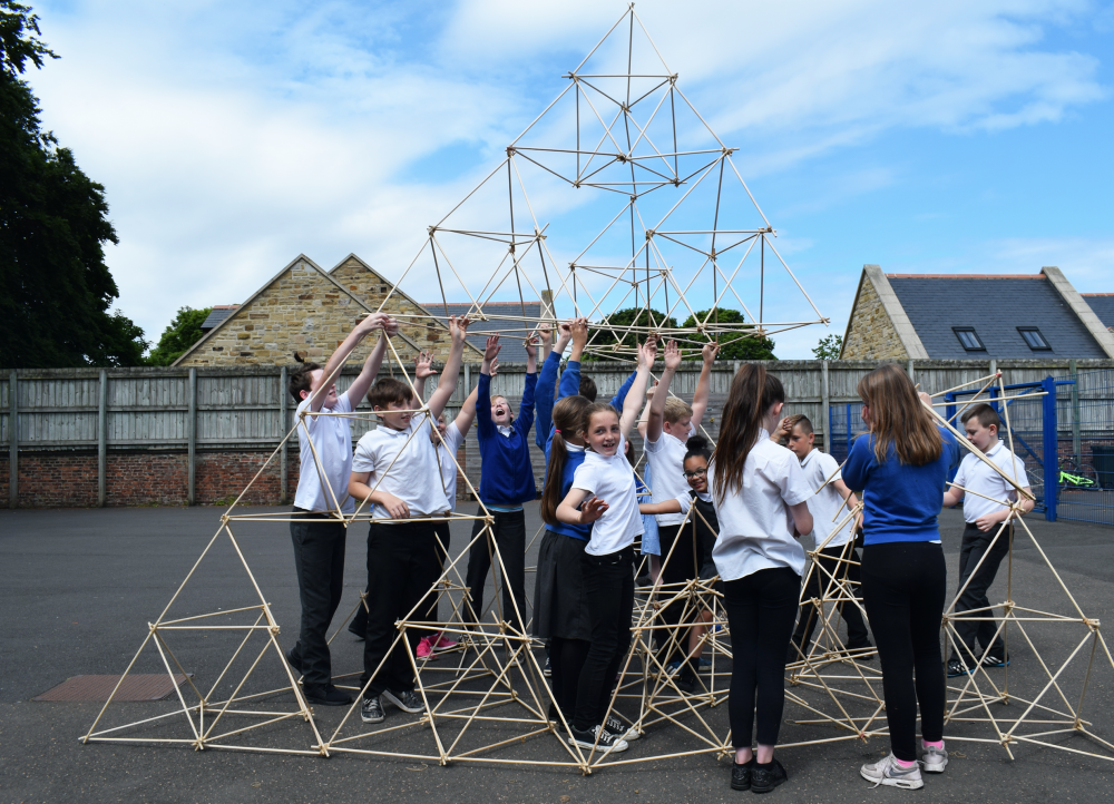 Teamwork at Backworth Park Primary