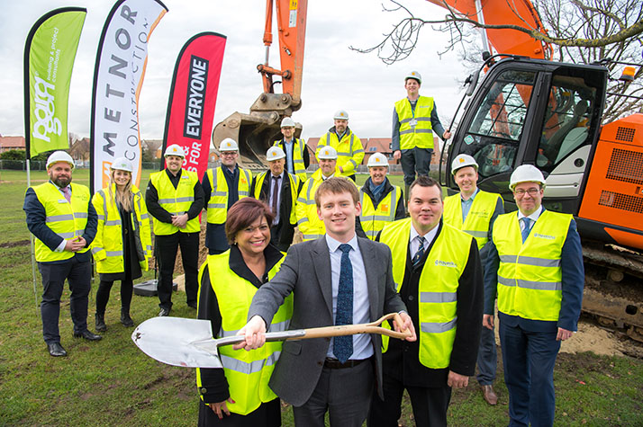 Groundbreaking at Hornchurch Leisure Centre