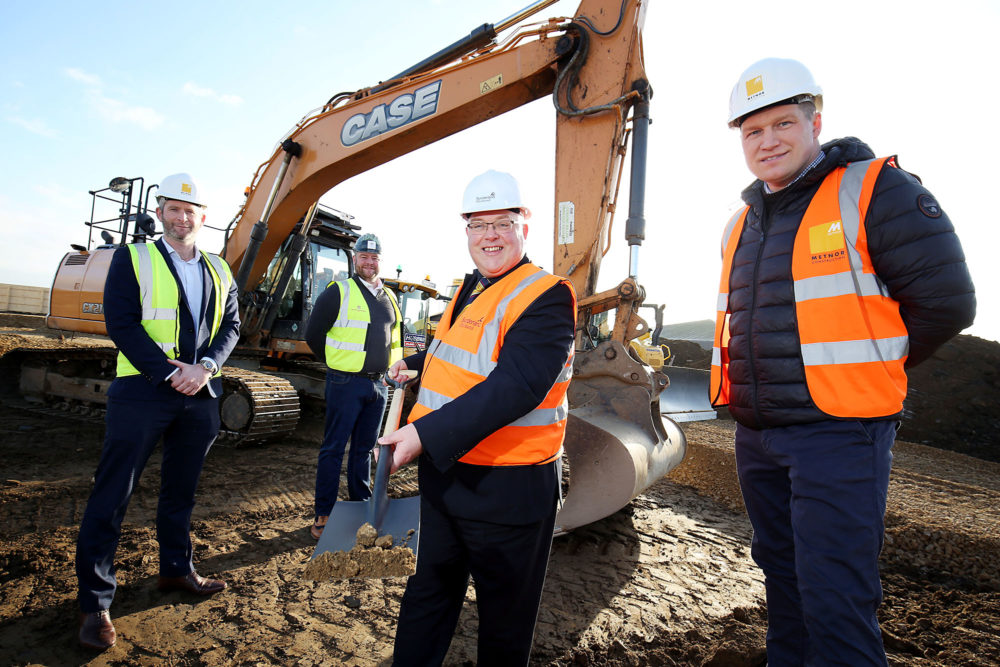 Turf cutting ceremony takes places for new Sunderland seafront inn
